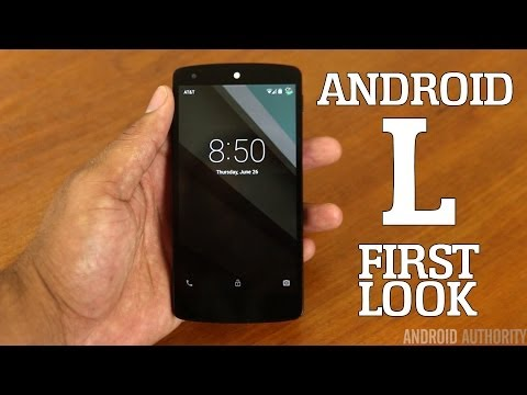 Android L - First Impressions!