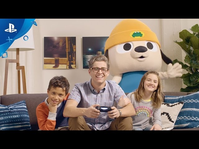 PaRappa The Rapper Remastered - PlayStation Experience 2016 Trailer | PS4