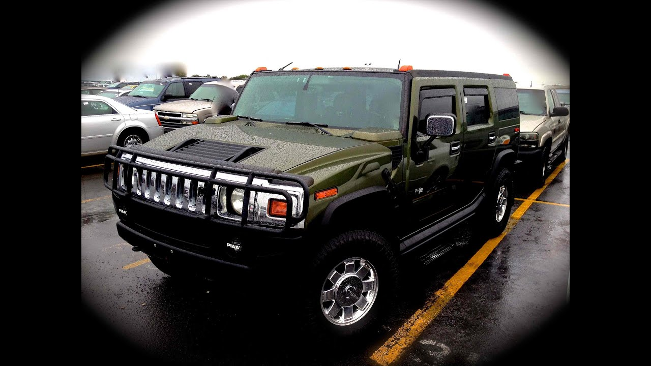 2003 hummer h2 60l v8 start up quick tour rev with exhaust 2003 hummer h2 60l v8 start up quick tour rev with exhaust view 142k vanachro Images