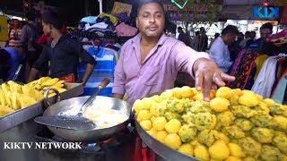 Golgappa fry | YOU NEVER SEEN BEFORE | جولا فراي طعام الشارع | KikTV Network  B31