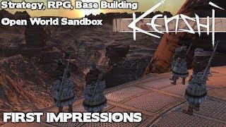 Kenshi: First Impressions Review, 4 Genre Blend - RTS / RPG / Base Building / Open World Sandbox /