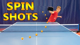 Table Tennis Spin Shots
