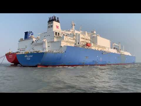 First ship-to-ship (STS) transfer of LNG | Summit LNG | May 2019