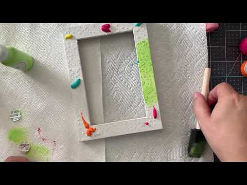 Coco inspired DIY photo frame