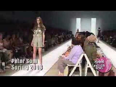Peter Som Spring / Summer 2008 Women's Runway Show | Global Fashion News
