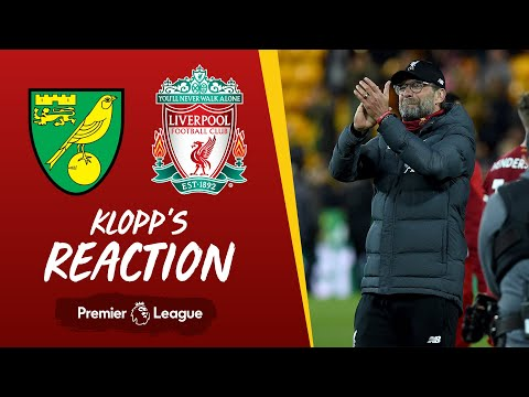 Klopp's Reaction: Mane's Return And Atletico Madrid | Norwich City V Liverpool