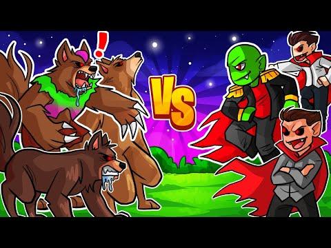 ¡VAMPIROS VS HOMBRES LOBO! Minecraft La Comunidad #11 from YouTube · Duration:  15 minutes 40 seconds