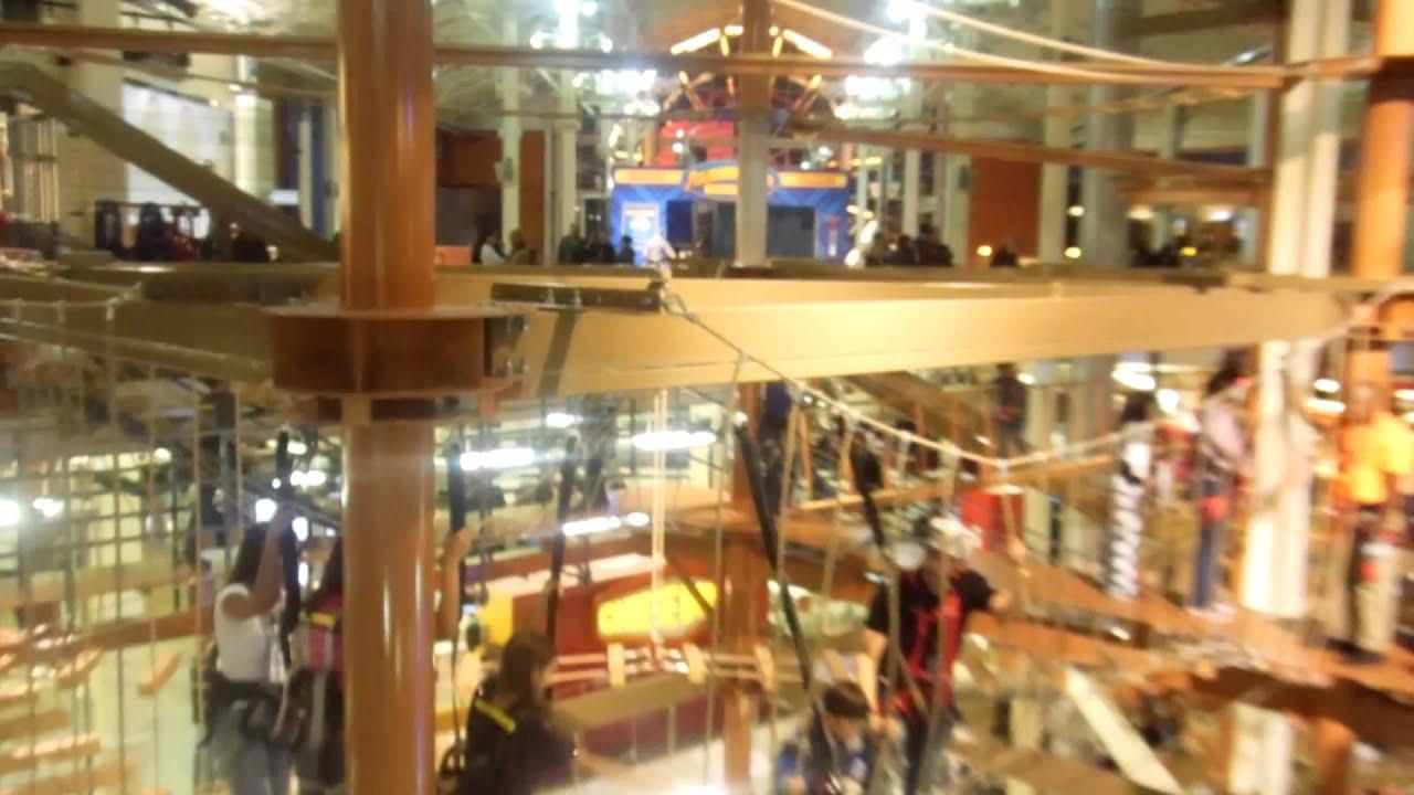 85 Feet Tall Indoor Rope Course Amp An Indoor 68 Feet Tall
