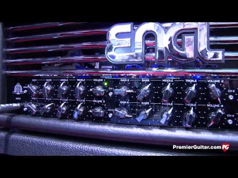 NAMM '14 - Engl Amps Invader II & Tube Poweramp 810 Demos