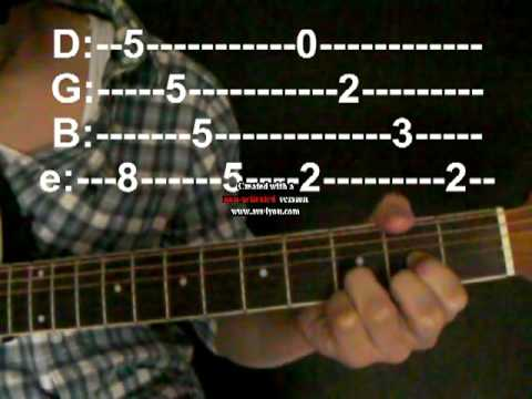"""Guitar guitar tablature for stairway to heaven : Stairway to Heaven"""" Lesson- Tabs - YouTube"""
