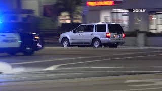 DUI Driver Flees Police Then Fights With Police K9 During Standoff In Tustin - Caught On Camera