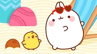 Molang and Piu Piu summer vacation | 1H Molang Compilation