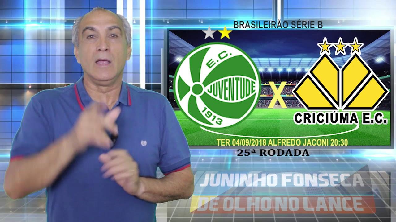 Palpites 25° Rodada Campeonato Brasileiro Série B 2018