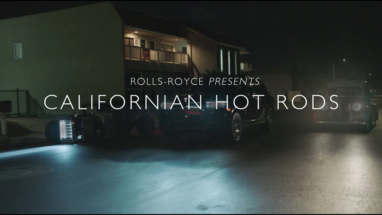 When Rolls-Royce Cullinan Black Badge met California's Hot Rods