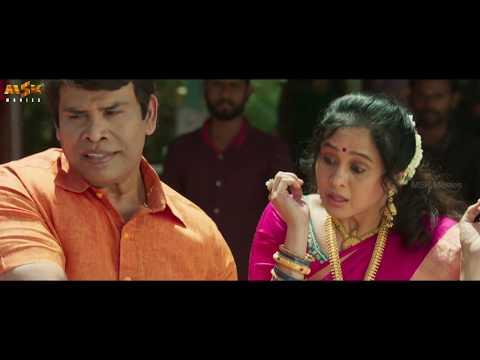 Goons Confront Deva At The Temple | Kalavani Mappillai Tamil Movie | Dinesh, Adhiti Menon