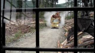 Off-highway logging trucks