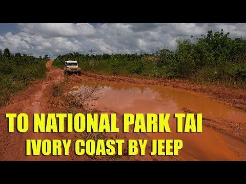 To National Park Tai - Ivory Coast by Jeep