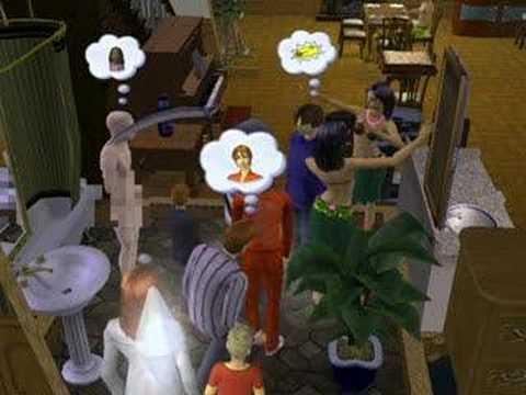 Herb Oldie Dies Naked - Sims 2