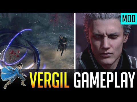 Devil May Cry 5 New Vergil Gameplay Mod ! thumbnail