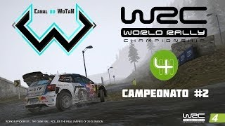 WRC 4 The Game - Gameplay - Campeonato #2 - Rally na Neve