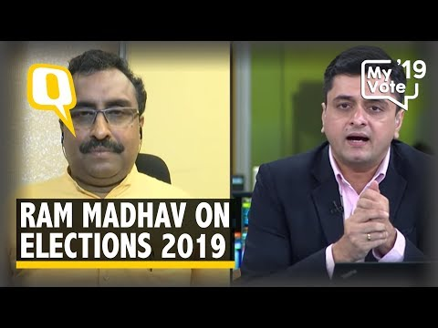 BJP National General Secretary Ram Madhav On Elections 2019 | The Quint