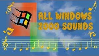 MICROSOFT WINDOWS 2000 ALL SOUNDS