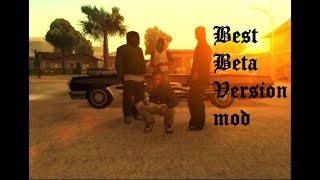 GTA San Andreas Best Beta Version mod Gameplay (With Download Link) and Intro & Mission #1 Big Smoke