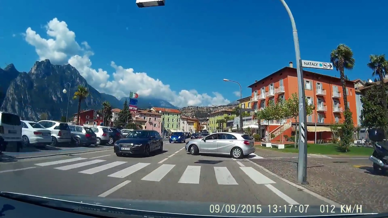 Driving in Italy: Loop around Lago di Garda part 2: Reaching Riva