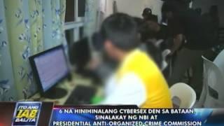 6 na hinihinalang cybersex den sa Bataan, sinalakay ng NBI at PAOCC