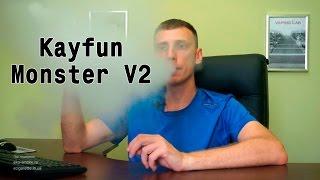 Обзор обслуживаемого бака атомайзера Kayfun Monster  v2