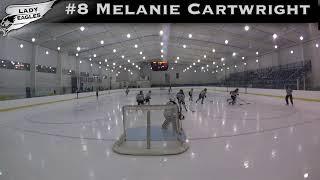 2018-2019 #8 Melanie Cartwright GY 2023 Carolina Lady Eagle Highlights