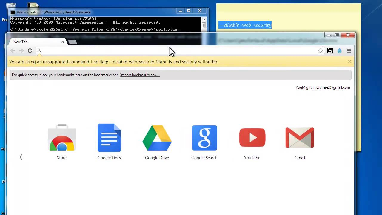 Loading a local XML file in Chrome, Firefox and IE 10