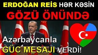 Rəcəb Tayyib Erdoğan Azərbaycan və Türkiyə Birlikdə