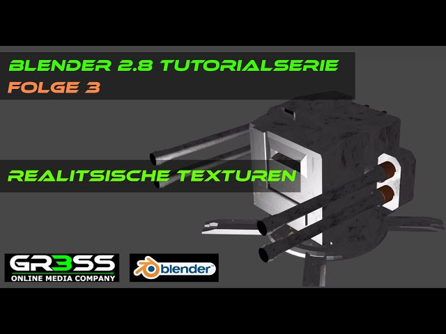 Blender 2.8 | Realistische Texturen | Tutorial 3 deutsch