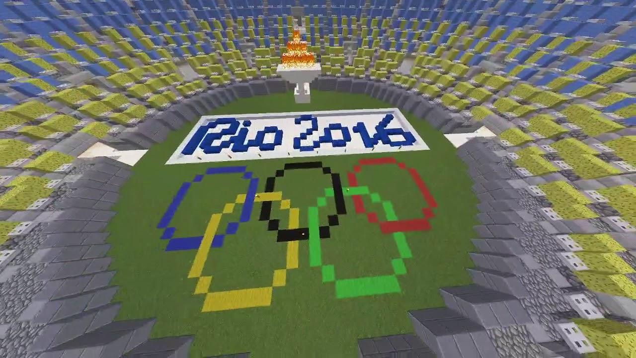 [Minecraft Builds] Brasil - Rio :Minecraft  Olimpia
