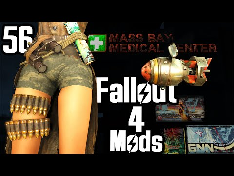 Fallout 4 Mod Review 56 - Flying Drones and MacCready Redone CBBE - Boobpocalypse
