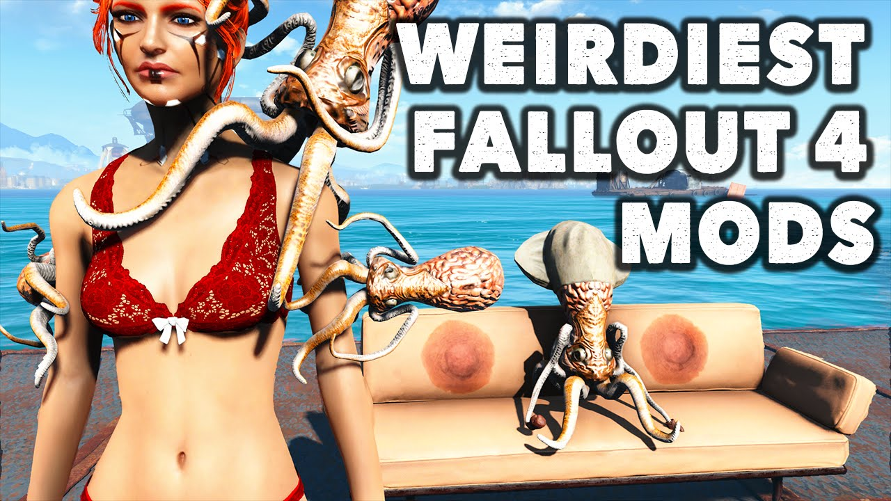 Top 10 Weirdest Fallout 4 Mods With Ohnickel And Vatiwah Weirdest And Strangest Fallout 4 Mods Youtube