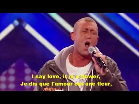 Christopher Maloney's audition   Bette Midler's The Rose