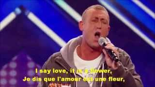 Christopher Maloney s audition Bette Midler s The Rose