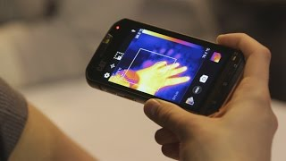 CAT S60 — первый телефон с тепловизором