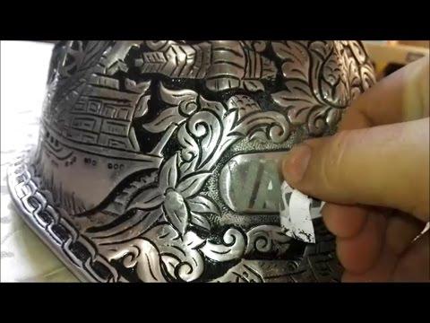 Как сделать рисунок на металле / Травление металла