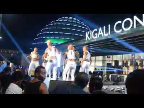 Koffi Olomide live performance in Rwanda on New Year Eve.Part1