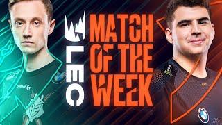 #LEC Match of the Week: G2 vs Fnatic