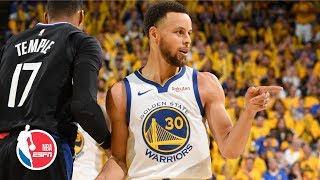 Steph Curry sets all-time playoff 3 record, Warriors win Game 1 vs. Clippers | NBA Highlights