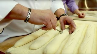 How Baguettes Are Made | Bakery Production