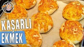 Kaşarlı ekmek tarifi-Hatice Mazi