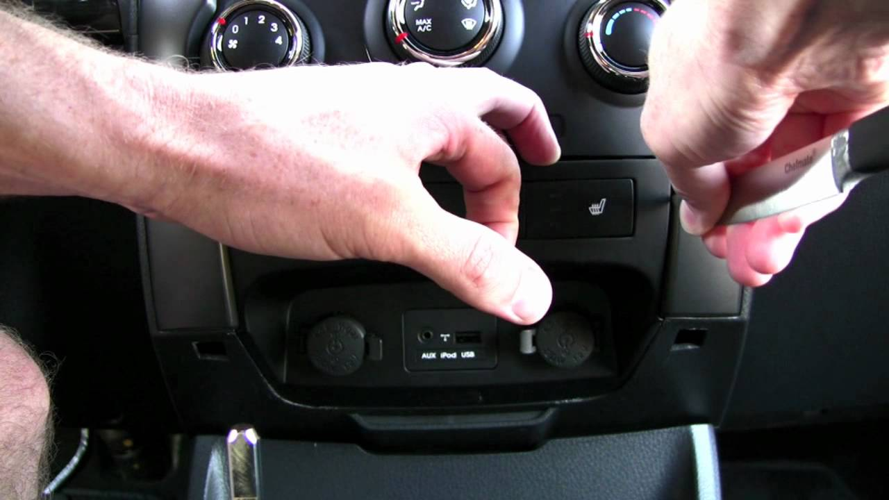 2012 KIA Sorento Center Console Removal  YouTube