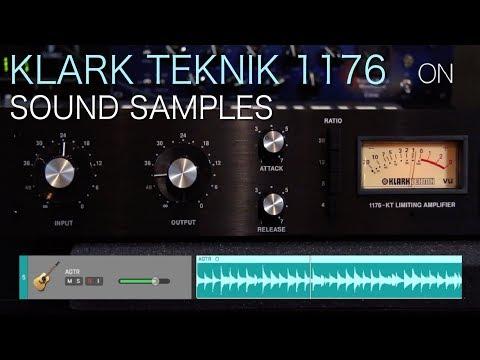 Klark Teknik 1176 | Sound Samples: Drums, Bass, Acoustic Guitar, Male Voice-over & Female Vocals