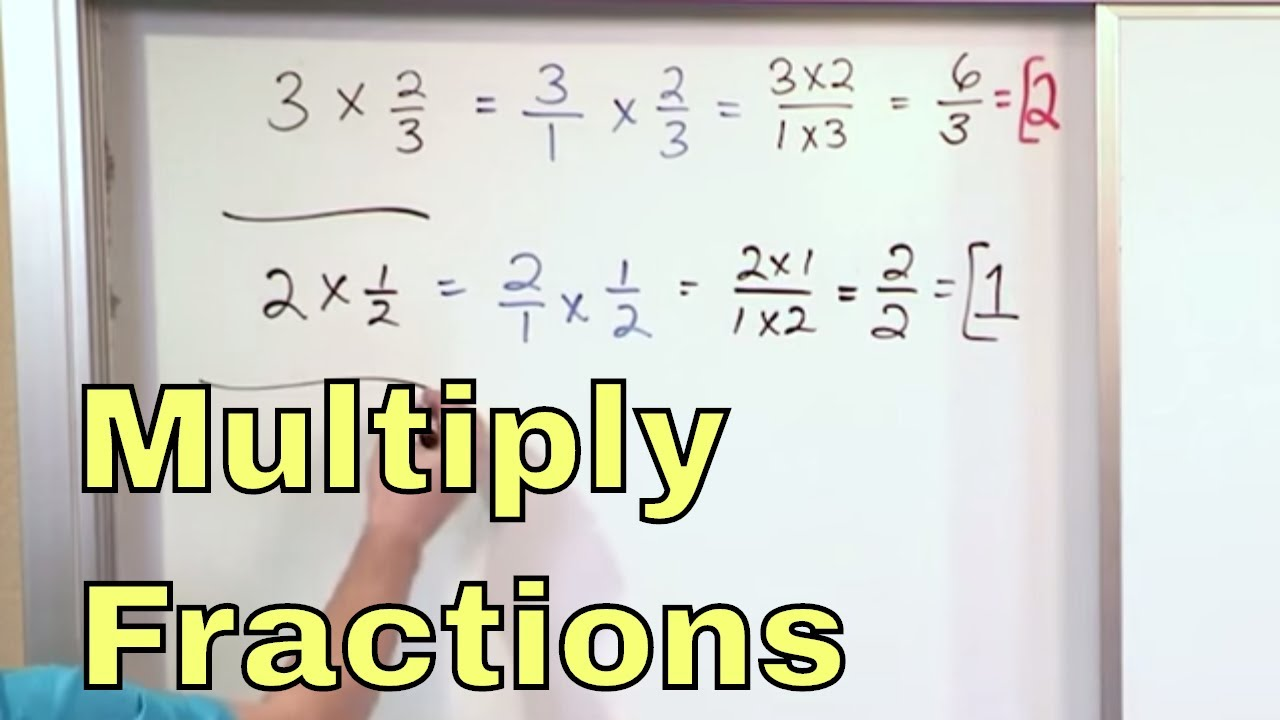 Lesson 1 - Multiply Whole Numbers By Fractions (5th Grade Math)