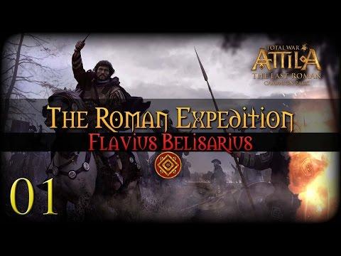 [1] Attila: Total War - The Last Roman Campaign DLC - The Roman Expedition   SurrealBeliefs